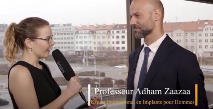 تقرير عن مشاركة البروفيسور/ أدهم زعزع في مؤتمر الجمعية الأوروبية للطب الجنسي براغ 2020